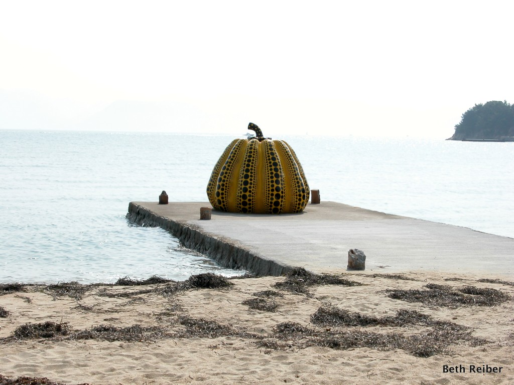 Naoshima combines scenic beauty with cutting-edge art