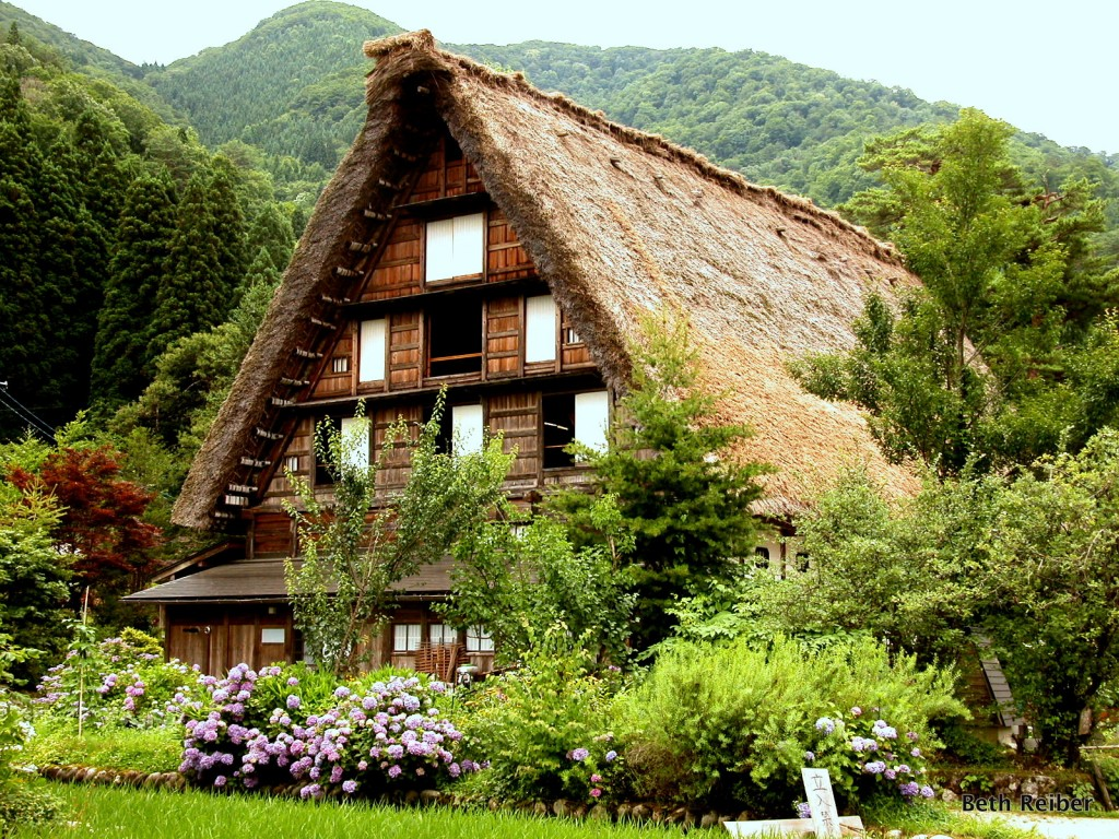 A thatched house in Shirakawa-go, 2009