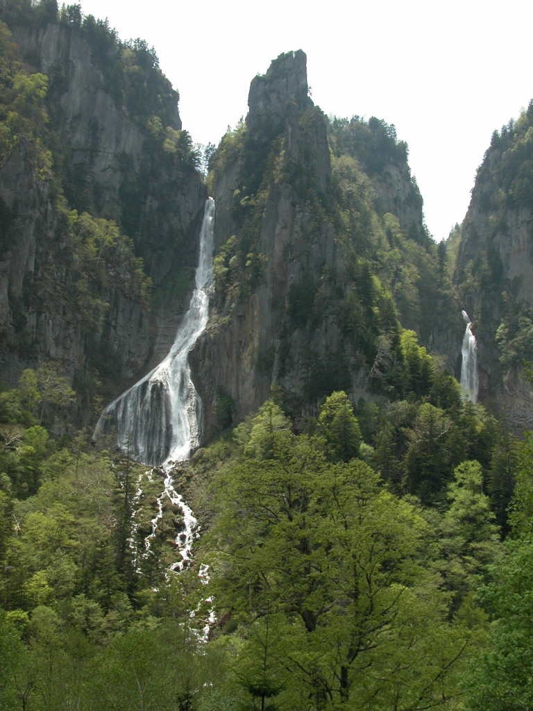 Sounkyo in Daisetsuzan National Park