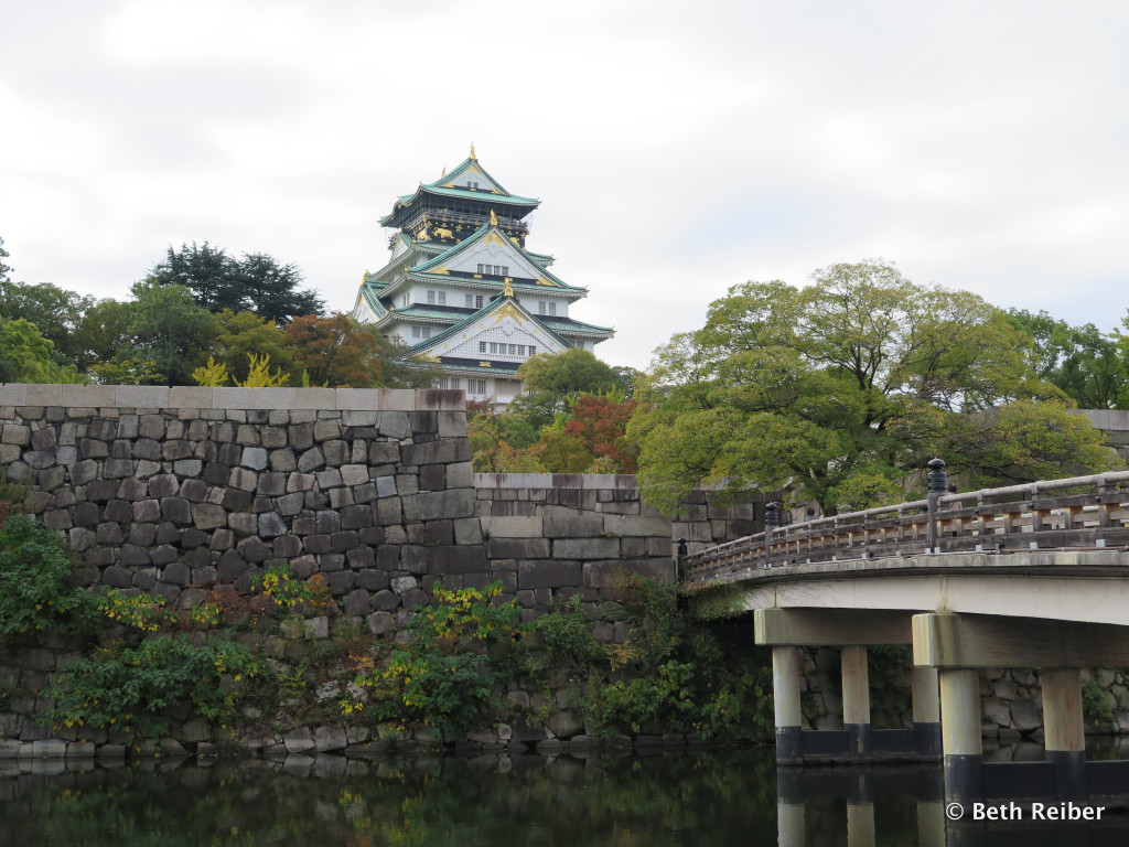 Osaka Castle is the city's most iconic landmark