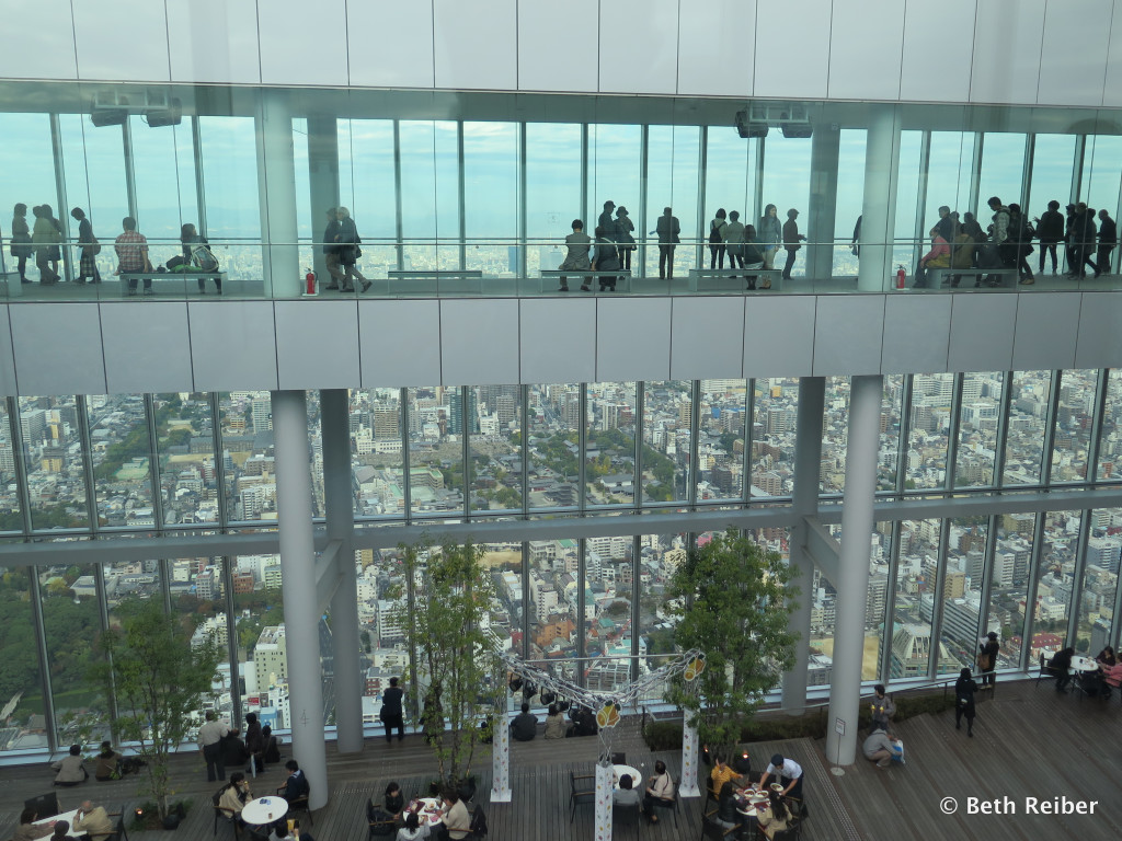 Japan's tallest building (for now), the 50-story Abeno Harukas contains this observatory on its top floors.