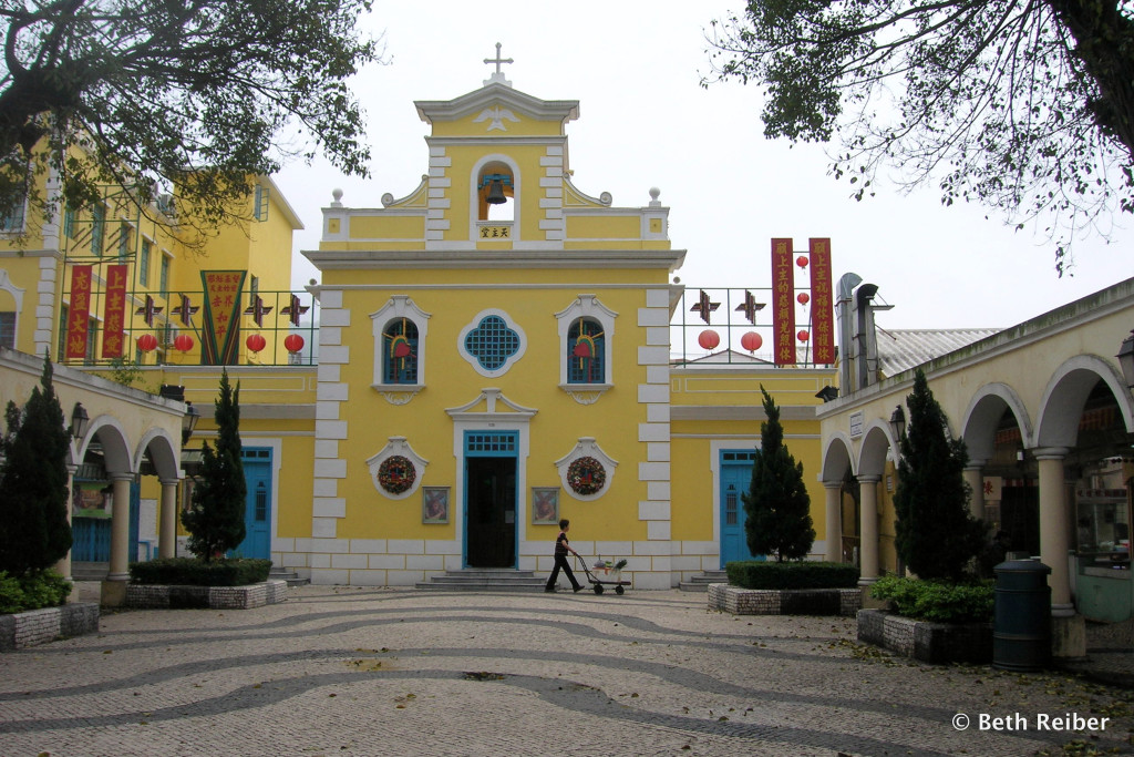 Chapel of St. Francis Xavier in Coloane Village