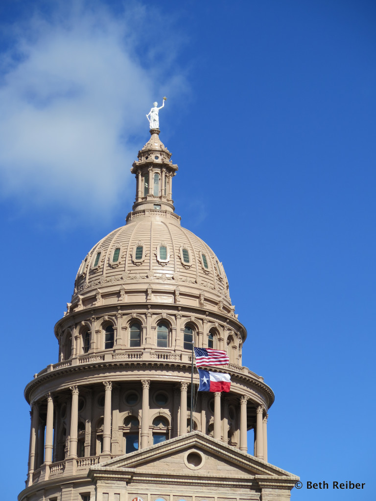 The Texas State Capitol is taller than the US Capitol in Washington, D.C.