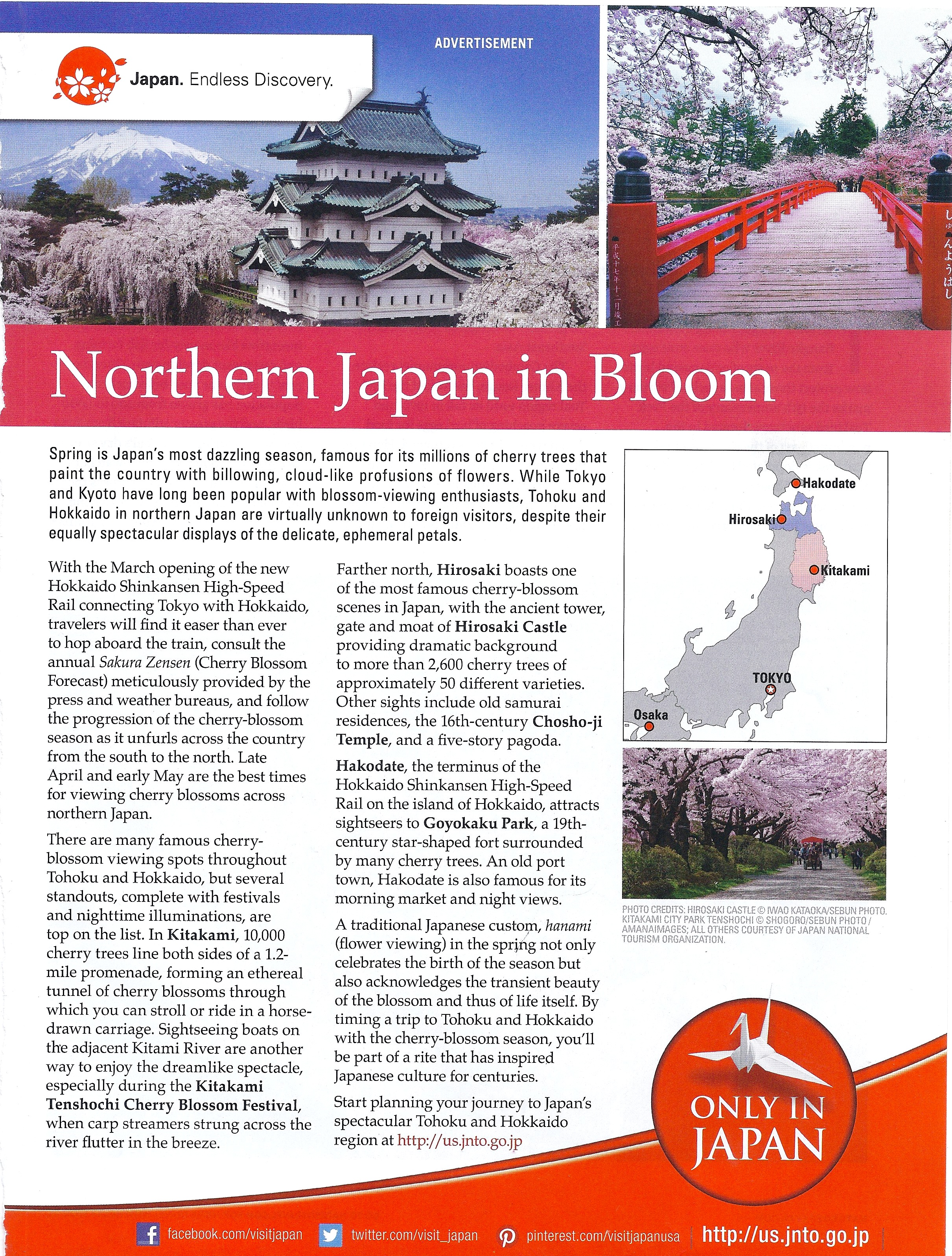 National Geo Ad Feb:Mar 2016 cherry blossoms