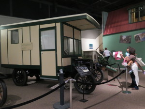 A Tin Can Camper, popular among tourists in the early 1900s