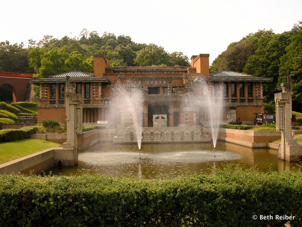 Frank Lloyd Wright's Imperial Hotel at Meiji Mura