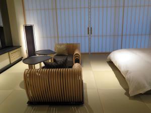 A room at Hoshinoya Tokyo